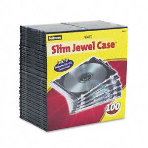 CASE,CD,JWL,SLM,100PK,CLR
