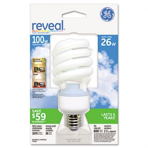 BULB,100W CFL, REVEAL