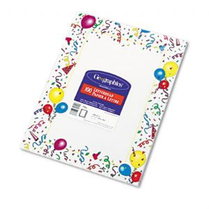 PAPER,GEOPARTY,100/PK