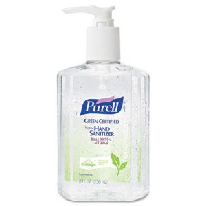 SANITIZER,GREEN,8OZ