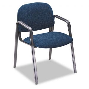 CHAIR,GUEST,W/ARMS,BE/BK