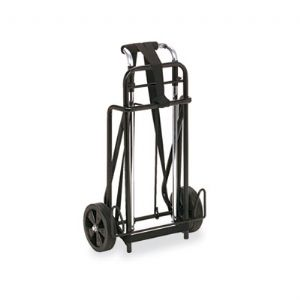 CART,LUGGAGE,175LB CAP,BK