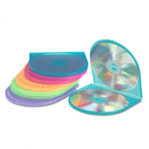 CASE, CD, SHELL 10PK, AST