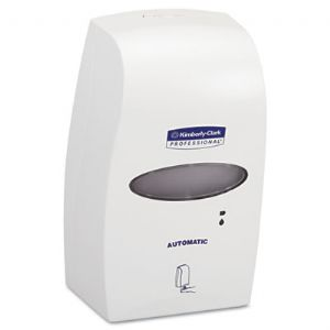 DISPENSER,FOAM,ELECTR,WHT