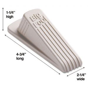 DOORSTOP,N-SKID,1/CD,BGE