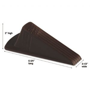 DOORSTOP,N-SLIP,GIANT,BN