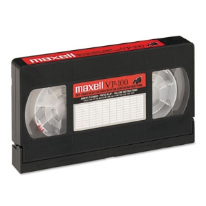 Maxell® Cleaning VHS Tape