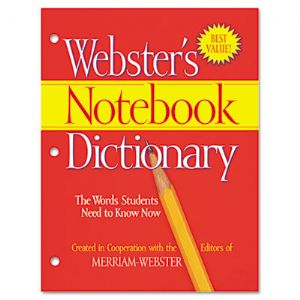 DICTIONARY,NOTEBOOK