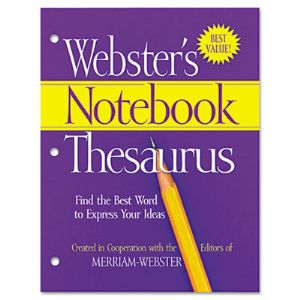 Advantus� Webster's Notebook Thesaurus