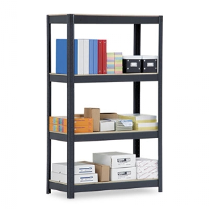 "SHELVING,HD,4SHELF,60"",BK"