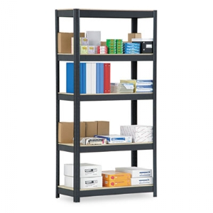 "SHELVING,HD,5SHELF,72"",BK"
