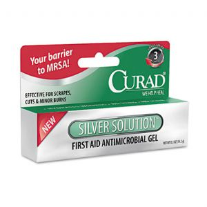 Curad� Silver Solution� Antimicrobial Ge