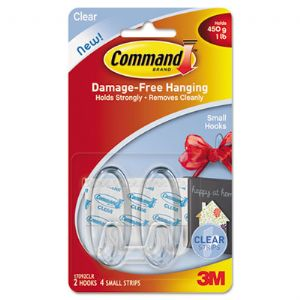 Command� Clear Hooks and Strips