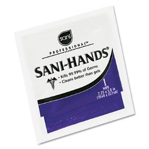 WIPES,SANITIZING,HAND,PKT