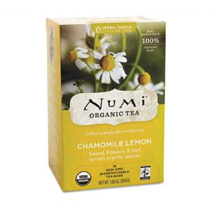 TEA,CHAMOMILE LEMON HERBL