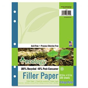 Pacon� Ecology� Filler Paper