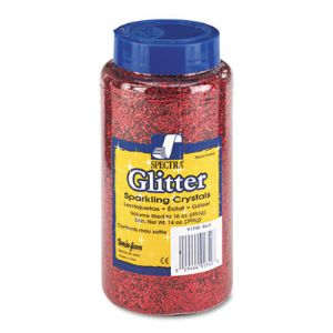 GLITTER,16OZ,RD