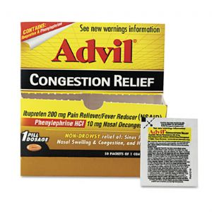 FIRST AID,ADVIL CNGSTN