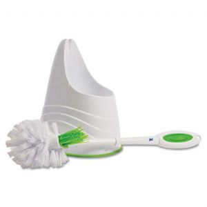 BRUSH,LYSOLBOWL&CADDY,WHT