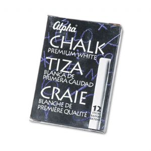 CHALK,ALPHA12/PK,WE