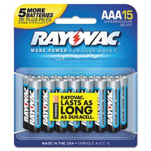 BATTERY,AAA ALKALINE,12PK