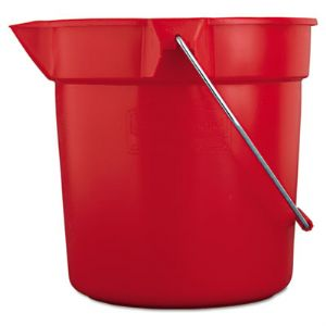BUCKET,BRUTE 10 QT-RE