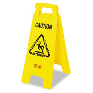 SIGN,CAUTION,2SIDE,YW