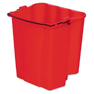 BUCKET,DIRTY WTR,18QT,RD