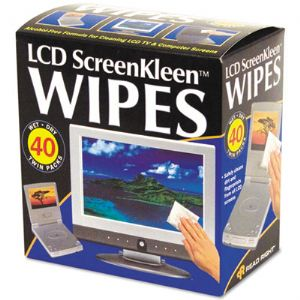 WIPES,SCRN CLEAN 40/BX,WE