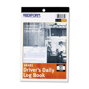 BOOK,DRIVER LOG,DUP,31/ST