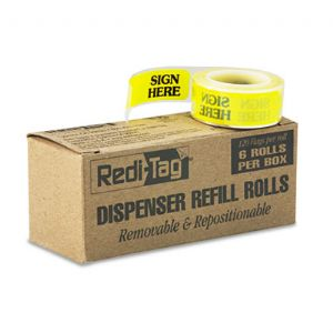 REFILL, SIGN HERE 6/BX,YW