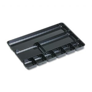 TRAY,DWR,9-SECT,BK