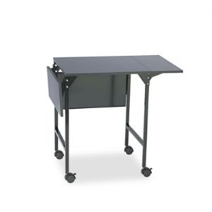 Machine Stand with Drop Leaves - Black