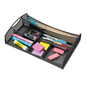 ORGANIZER,MESH DRAWER,BK
