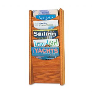 Safco� Solid Wood Wall-Mount Literature