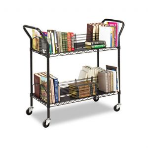 CART,WIRE BOOK,BK