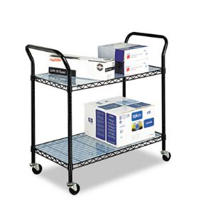 Wire Utility Cart 2 Shelf