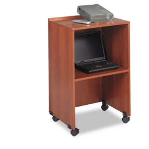 Lectern Base/Media Cart - Cherry