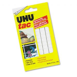 ADHESIVE,UHU,TAC,SQUARES
