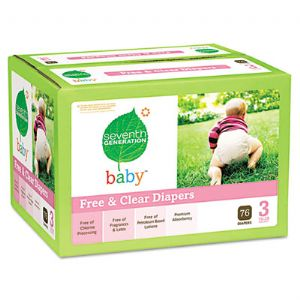 DIAPERS,STAGE 3,76CT,WH