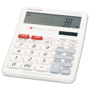 CALCULATOR,EXERCISER,WE