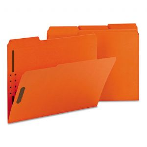 Smead� Top Tab Colored Fastener Folders