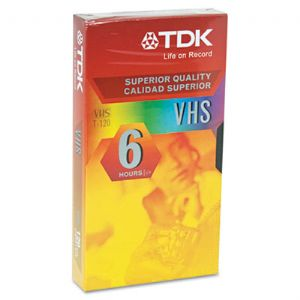 TDK Standard Grade VHS Video Tape