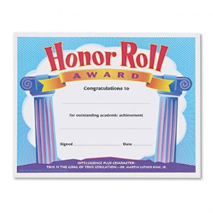 AWARD,HONOR ROLL,30/PK