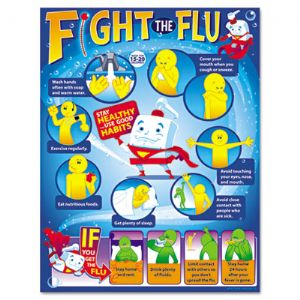 CHART,FIGHT THE FLU,12/PK