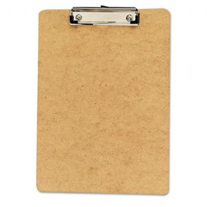 CLIPBOARD,LETTER,6/PK,BRN