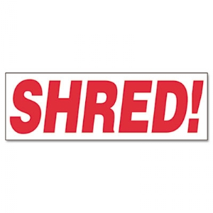 STAMP,SHRED!,RD