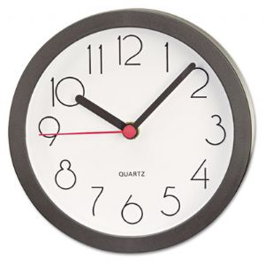 CLOCK,CUBICLE WALL,6&quot;,BK
