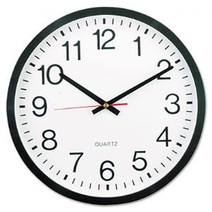 CLOCK,WALL,12.5&quot;,BK
