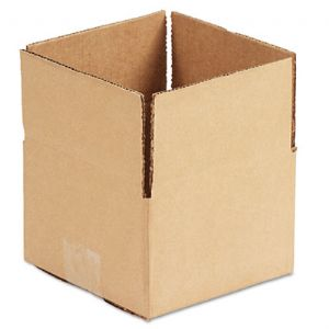 BOX,6X6X4,CORRUGATED,KFT